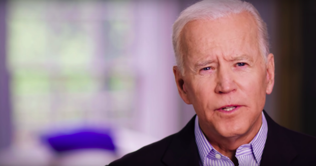 Joe+Biden+announces+his+campaign+for+president+in+an+online+video.+%0A
