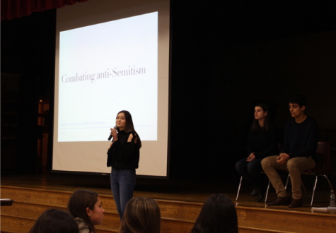 Hills students make change with community awareness project battling anti-Semitism
