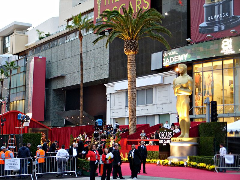 The Academy Awards red carpet in 2009. The ceremony has taken place since 1929 to honor talent in the film industry.