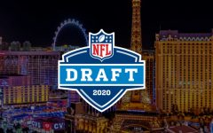 The National Football League's 2020 draft logo. It was moved online because of the coronavirus pandemic.