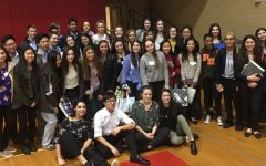 Pascack Hills High School Research in Molecular Genetics students at the 2019 North Jersey Regional Science Fair. Due to the ongoing pandemic, this year's event was moved online.