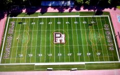 Pascack Hills' athletic field, with
