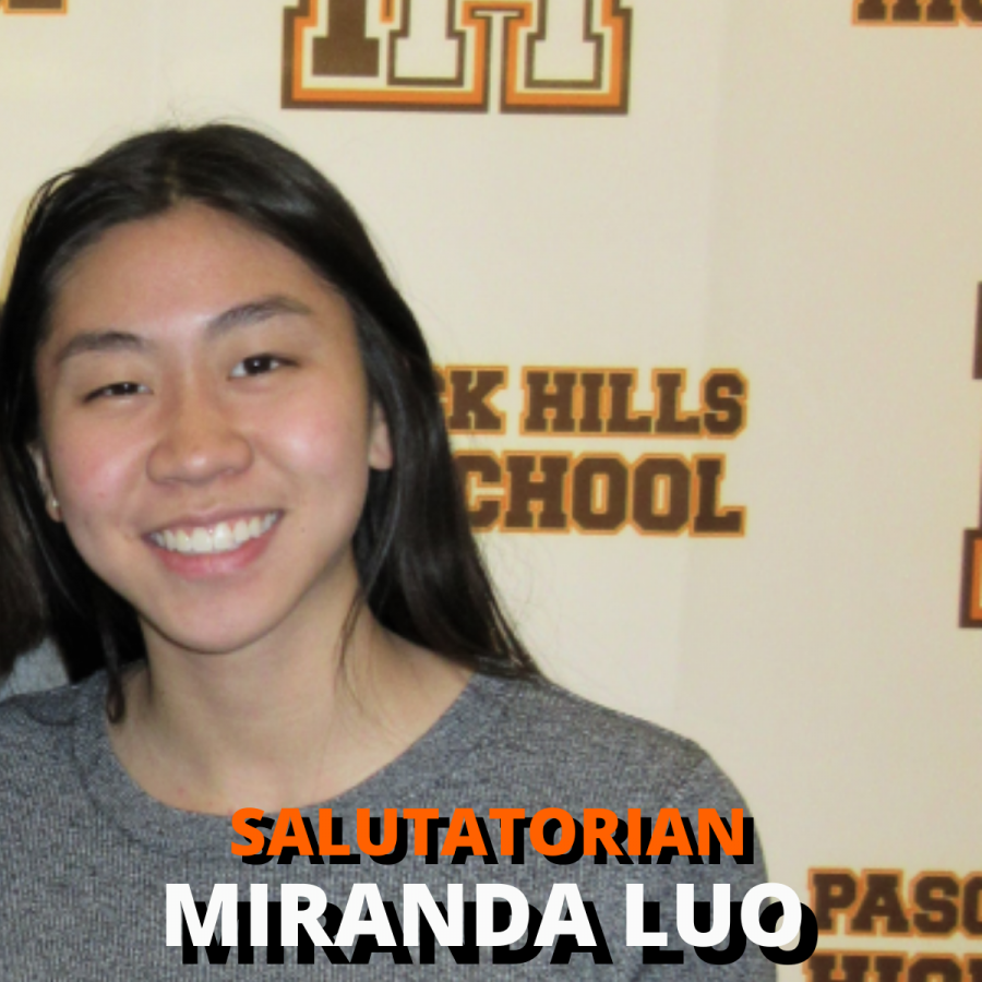 'Confident', 'well-rounded', and 'the biggest heart': Salutatorian Miranda Luo