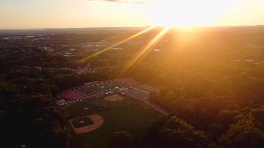 The Pascack Hills athletic fields from above. Paspalas oversaw their renovation as Athletic Director.