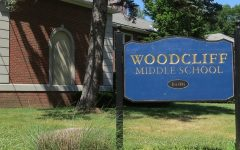 The front of Woodcliff Middle School, which sends many of its students to Pascack Hills after they graduate.
