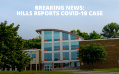 Less than an hour before class, an individual at Hills reported a positive Covid-19 test to the district.