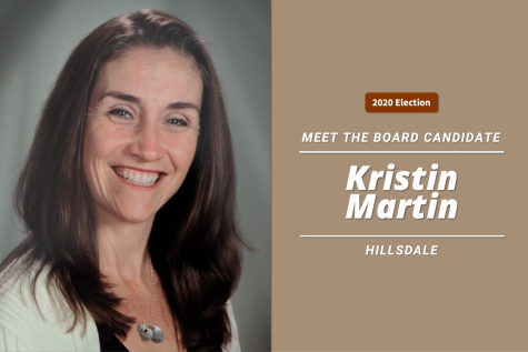 Meet the Board candidate: Kristin Martin