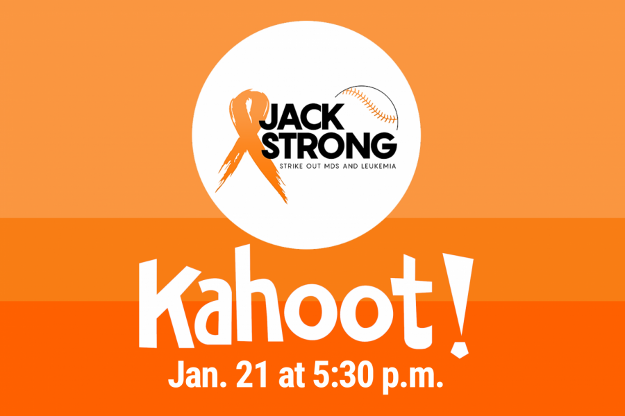 To support Jack and organizations recommended by #JackStrong, Student Government is planning a school-wide Hills Kahoot game on Thursday, Jan. 21 at 5:30 p.m.