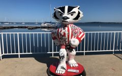 Bucky the Badger, the mascot of the University of Wisconsin-Madison.
