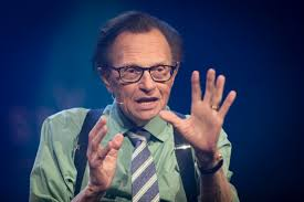 TV show host Larry King.