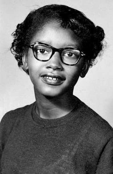 When most people think of the bus boycott in Montgomery, Alabama, they tend to picture Rosa Parks. However, it was a fifteen-year-old who first refused to move her seat on the bus, Claudette Colvin.