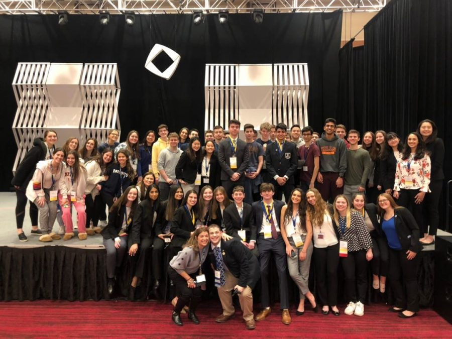 Last year's DECA chapter at the NJ state competition.