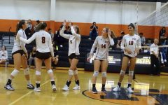 The volleyball team has a game this Friday, March 26 against Demarest.