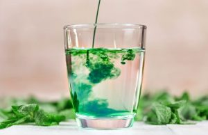 Chlorophyll-concentrated water has spontaneously ignited worldwide infatuation, especially among teenagers.