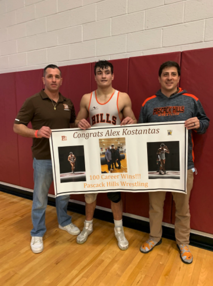 In addition to placing fourth at states, Kostansas celebrated 100 career wins on April 25.