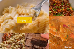 These five TikTok food recipes are trendy and delicious.