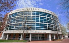 Northeastern University is located within the city of Boston.
