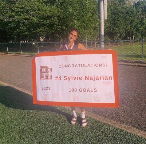 Najarian began playing lacrosse in second grade.